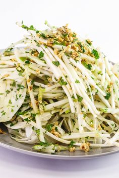 Chris Kimball's Apple, Celery Root and Fennel Salad with Hazelnuts