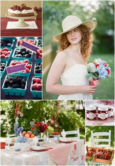 Image detail for -Your Wedding Support: GET THE LOOK - Fruit Themed Wedding