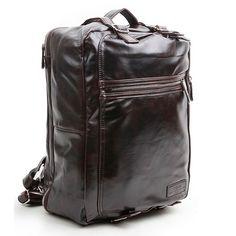 3way bag Vintage Backpack Shoulder bag Tote bag for men Adrena 200   chanchanbag.com   Nice faux leather 3 way bag -> Backpack, Shoulder bag, Tote bag.