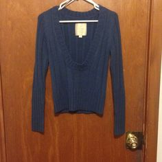 Cute blue sweater In great condition worn once Energie Sweaters Crew & Scoop Necks