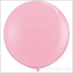 """36"""" Round Balloon: Bubblegum Pink  Shop Sweet Lulu"""