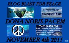 JewelGirls Katz blogging peace from Chicago, Illinois  blogblastforpeace.com