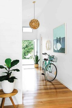 Step inside an enchanting family getaway on NSW's south coast Interior Decorating Tips, Family Room Decorating, Interior Design, Interior Architecture, Interior And Exterior, Cool Room Designs, Oz Design Furniture, Rustic Stools, Rustic Lighting
