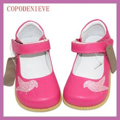 COPODENIEVE Girls Shoes New Spring Autumn Brand Children Children leather shoesFlat Princess Dancing shoes For Baby Girls Kids