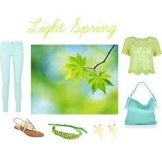 """Light Spring"" by sabira-amira on Polyvore"
