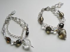 Helmikoruja lahjaksi. Charmed, Bracelets, Jewelry, Fashion, Moda, Jewlery, Bijoux, Fashion Styles, Schmuck