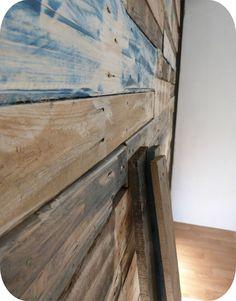 1000 images about palettes on pinterest pallets pallet work bench and pal - Mur en bois de palette ...