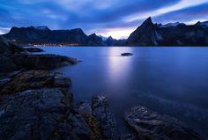 Olstind Twilight by Felix Inden on 500px