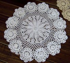 Aliexpress.com : Buy 6cs/lot crochet white doilies wholesale doilies for wedding decor FREE SHIPPING!!! from Reliable wholesale price doilies suppliers on Handmade Shop $17.80