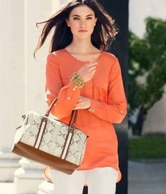 H & M Orange Tunic. Perfect for summer!