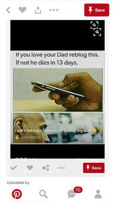 for my step-dad, mine passes away when i was 2 I Love My Dad, Just Do It, Just In Case, Taking Chances, Chain Messages, Message For Dad, Minion Jokes, Text Jokes, Tumblr Quotes