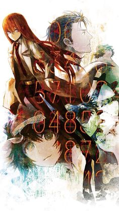 Steins; Gate. i actually watched this before blue exorcist and future diary soo.. those who dont know what i'm talking about chech out my anime board and read the description!