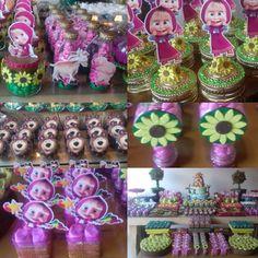 Bear Birthday, 2nd Birthday, Birthday Parties, Masha And The Bear, Bear Party, Alice, Osho, Instagram, Acrylic Box