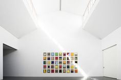 Christian Muscheid - Ausstellung -walter storms galerie - München - Interaction of color - concrete jungle - minimal art - architecture - universal painting