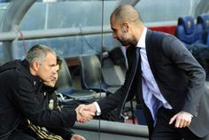 Barcelona coach Pep Guardiola hailed Real Madrid as the new Spanish  champions after his side lost 2-1 to their bitter rivals at Camp Nou. http://sports.ndtv.com/football/news/item/188837-barcelonas-guardiola-congratulates-champions-real-madrid