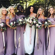 Bridesmaid Dresses – Page 4 – Dairy Bridal Designer Bridesmaid Dresses, Cheap Bridesmaid Dresses, Bridesmaids, Wedding Dress Shopping, Wedding Party Dresses, Country Wedding Guest Dress, Bridesmaid Inspiration, Elastic Satin, Dress Backs