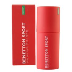 Perfume para mujer  Tamaño 3,3 OZ  EDT SPR Benetton, Perfume, Sport, Red Bull, Energy Drinks, Beverages, Canning, Color, Women