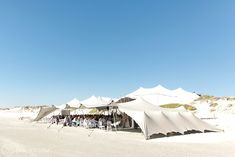 Tiaan & Rozelle's beach wedding in Yzerfontein at Strandkombuis - Coordinated by Otte de Jager Events Wedding Venues Beach, Wedding Photos, Tent, Wedding Photography, Patio, Outdoor Decor, Marriage Pictures, Store, Terrace