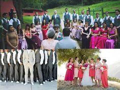 Traje padrinhos e madrinhas, Minhas inspirações.. e como foi! Amei! My wedding
