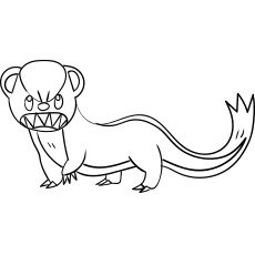 Yungoos Pokemon Coloring Pages Coloring Pages Pokemon Coloring