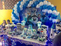 TEMA FROZEN: muito charme na festa da pequena Ana Luiza