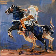 """Hectors Horse"" - Originals - All Artwork | Sophy Brown"
