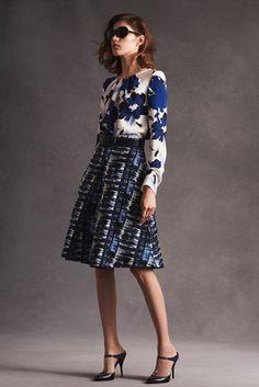 Oscar de la Renta Resort 2016 Fashion Show: Complete Collection - Style.com