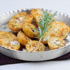 Rosmarin-Blechkartoffeln Rezept | Küchengötter