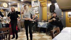 ATİNA BAYRAKTARİS TAVERNA'DA MUHTEŞEM ZEİBEKİKO..PERFECT DANCE AT A GREE...