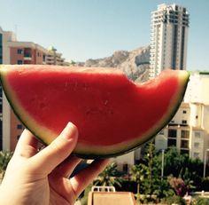 Yummy Water Mellon!  Instagram - MissJadeeP