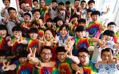 One of our customers sent us this photo of some students in Beijing wearing our tie dye tees! #beijing #tiedye #tiedyed #design #fashion #style