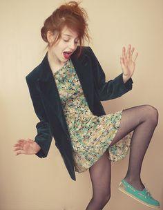 Whoopsy daisies! (by Nadia Esra) http://lookbook.nu/look/3934452-whoopsy-daisies