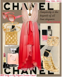 CHANEL, created by lesliekelley on Polyvore