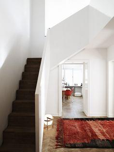 stairs (& kitchen)