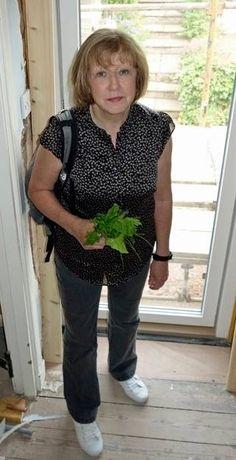 Sam's Mother Chrissie Heughan artisan papermaker
