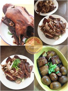 Cuisine Paradise | Singapore Food Blog | Recipes, Reviews And Travel: 2013 Chinese New Year Family Gatherings - Braised Soy Duck with firm beancurd and egg