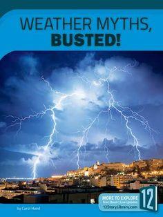Prezzi e Sconti: #Weather myths busted!  ad Euro 24.19 in #Libri #Libri