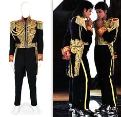 Gieves & Hawkes tailcoat worn by MJ in the late 80s