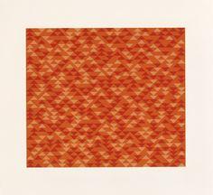 Anni Albers TR I, 1970 lithograph 193⁄4 × 211⁄2 in. (50.2 × 54.9 cm) 1994.11.19