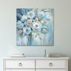 Portfolio Canvas D??cor Flourish I by Nan Wrapped Canvas Wall Art, 30x30