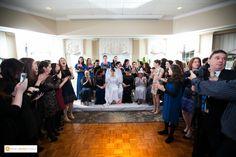 Indoor Wedding Ceremony   Springfield Country Club