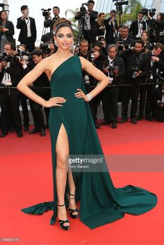 Deepika Padukone attends the 'Nelyobov (Loveless)' screening during the 70th annual Cannes Film Festival at Palais des Festivals on May 18, 2017 in Cannes, France.