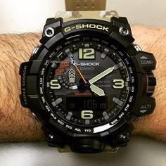 The ridiculously everything (namely mud) resistant Casio G-Shock Mudman GWG-10000 watch which is the latest generation Mudman. New more mud resistant pushers, sapphire crystal, triple sensor. Under $800. @gshock_us @casio.watches @casio_us #watches #gshock #casio #ablogtowatch