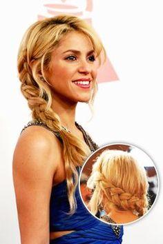 Shakira braid - GLAMOUR