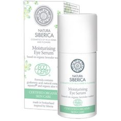 ACTIVE ORGANICS - Moisturizing Eye Lid Serum Based on Organic Lavender Water, Organic Aloe Vera, Hyaluronic Acid 30ml (Natura Siberica) by Natura Siberica. $14.99. Organic lavender water softens, soothes and restores skin balance.. Made in Switzerland. Gyaluronic acid is the most effective natural moisturizer.. Organic jojoba oil is perfect for caring about sensitive skin - it stimulates elastin production, reduces water loss making skin soft and supple.. Moisturizing eye lid ...