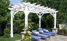 Cherry Hill Pergola Kits, Built to Last Decades | Forever Redwood