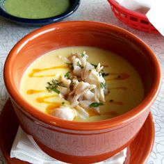 Being and Formulating – Chilled Corn Soup with Crab at Cafe Ynez