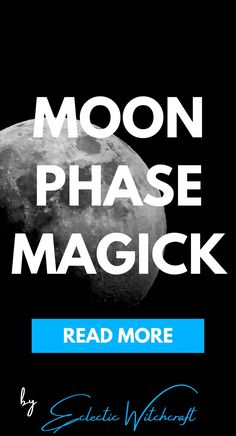 Moon phases 2020 grimoire and magic. What to do on moon phases.  #witch #pagan #wicca #witchcraft Wicca Witchcraft, Magick, Pagan, Moon Spells, Modern Witch, Moon Phases, Read More, Tools, Appliance