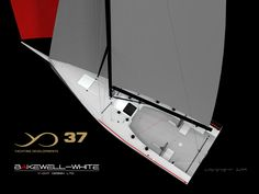 YD37 by Brett Bakewell-White, Yachting Developments and Pure Engineering - see performance data @ http://sailplan.ie/apps/boat-data-result/YD37