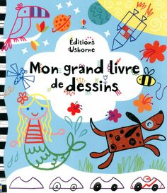 Mon grand livre de dessin de Josephine Thompson et Caroline Day Usborne